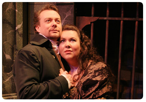Tosca for Opus1 Opera with Jim Heath as Cavaradossi